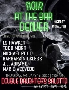 Noir at the Bar Denver January 2020