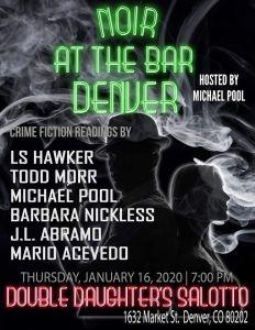 Noir at the Bar Denver January 2020