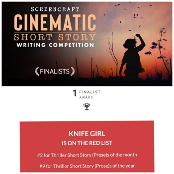 2021 ScreenCraft Cinematic Short Story Competition Finalist - Francelia Belton