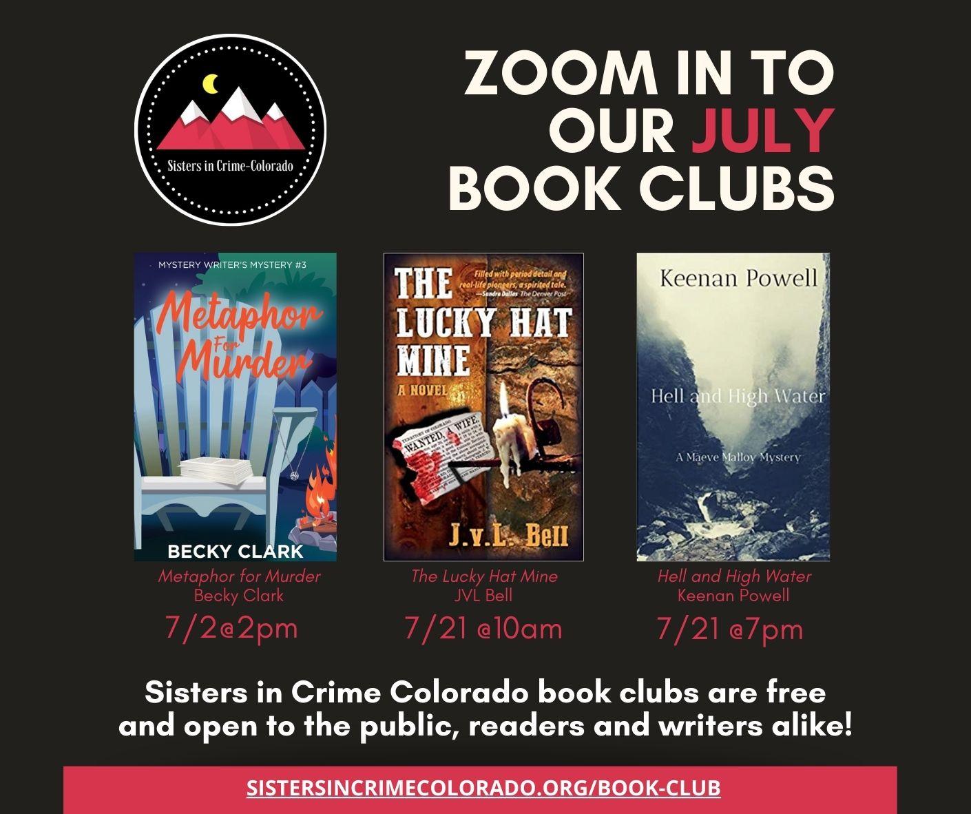 July SinC Book Clubs FB