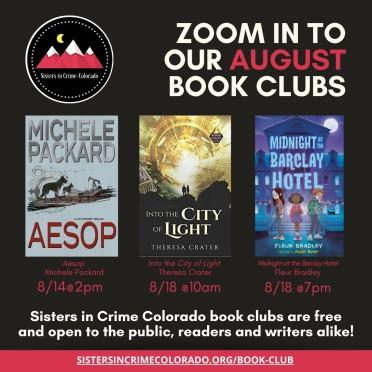 August SinC Book Clubs IG