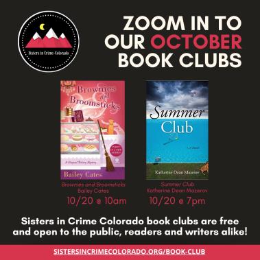 October SinC Book Clubs IG